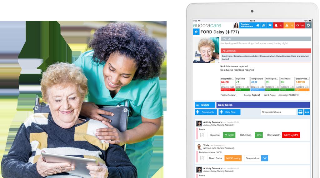 Eudoracare Software for Healthcare